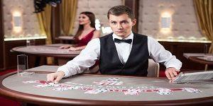 Echte croupier bij online live casino