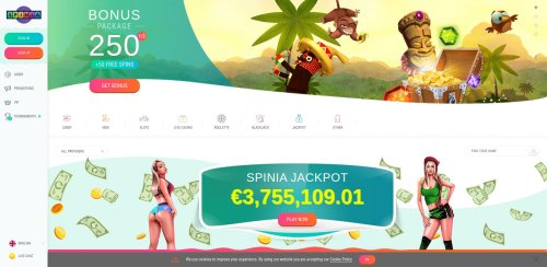 casinooplichters.nl review Spinia screenshot