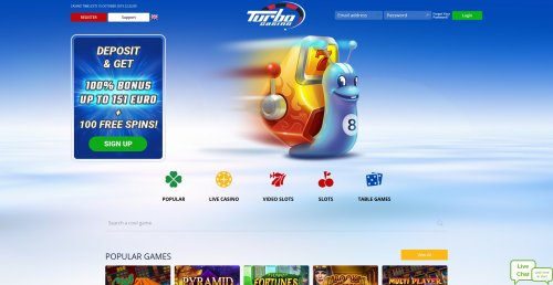 casinooplichters.nl review Turbo Casino screenshot