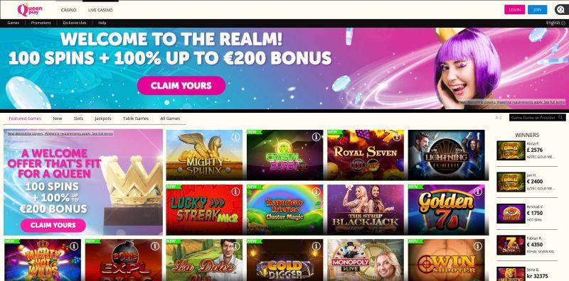 CasinoOplichters.nl review queenplay.com homepage screenshot november 2020